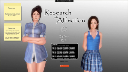 research into affection PC Game Walkthrough Download