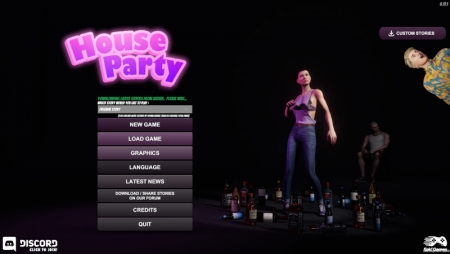 House Party 0.18.2PC Game Walkthrough Download